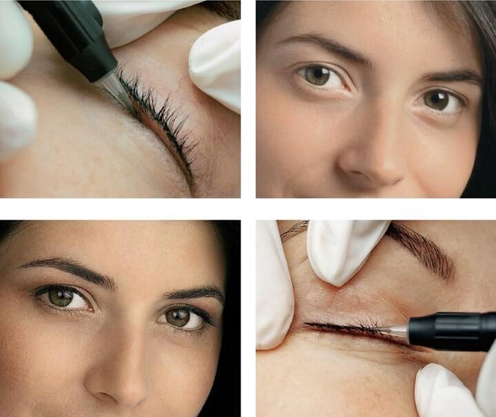 Технология нанесения перманентного макияжа век