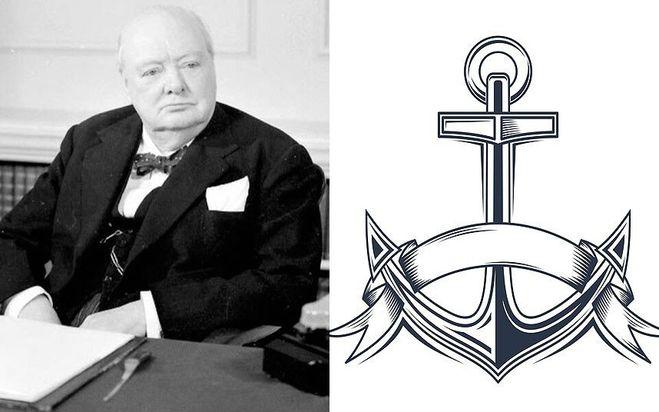 Татуировка Черчилля